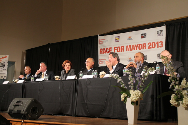 <p>The candidates debated issues including raising the minimum wage and affordable housing.</p>
