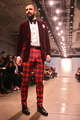 <p>Brett David, Maitre D&#39; of THE GENERAL, walked Designer Michael Fenici&#39;s runway show.</p>