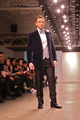 <p>Trey Morgan, national radio host, walked Designer Michael Fenici&#39;s runway show.</p>