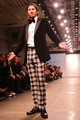 <p>Charles Ferri, CEO of Star Vodka, walked Designer Michael Fenici&#39;s runway show.</p>
