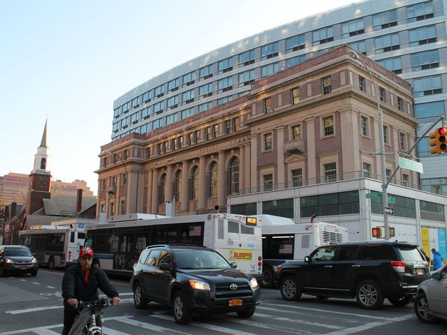 <p>Moda, which opened in 2010, is a 12-story building built atop of the former Queens Family Courthouse on Parsons Boulevard.</p>