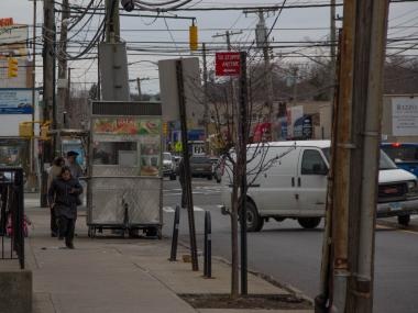 Residents said the halal trucks make traffic harder for cars and are not following health laws.