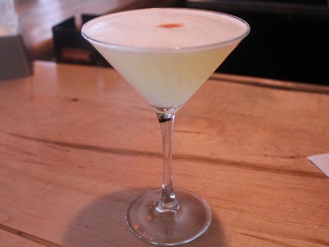 <p>The Pisco Sour is one of Peru&#39;s most traditional drinks. It&#39;s a popular menu item at Panca on Seventh Avenue.</p>