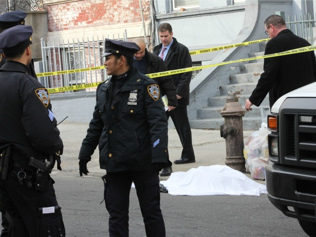 <p>Police investigated body parts scattered around a Bronx neighborhood early Tuesday morning.</p>