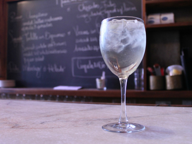 <p>The Rebujito, which combines manzanilla sherry with lemon soda, is a refreshing summer drink at Tia Pol in Chelsea.</p>