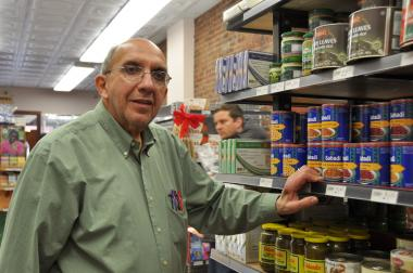 Store-owner Charlie Sahadi said Sahadi's is one of the longest-standing businesses on Atlantic Avenue.