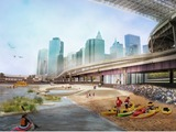 Complete East River Blueway Plan Features Brooklyn Bridge Beach