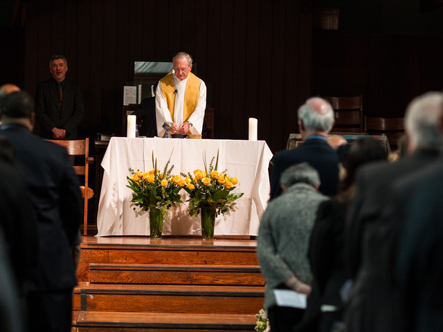 <p>Services for youth services advocate Richard Murphy, 68, took place at the Union Theological Seminary Chapel, on Feb. 16, 2013. Murphy passed away on Feb. 14, 2013, in Manhattan.</p>