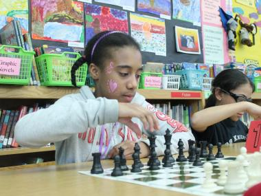 The chess club at P.S. 98 Shorac Kappock is trying to raise money to compete in a national tournament.