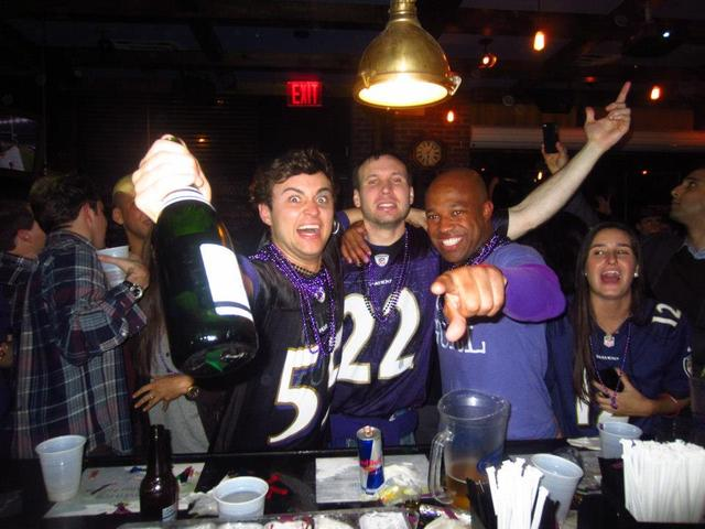 <p>Side Bar will become a haven of Baltimore Ravens fans on Sunday Feb. 3, 2013.</p>