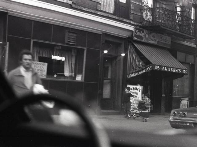 <p>An image taken by Allan Silverman and donated to the Lower East Side Tenement Museum by his niece Eva Silverman. The images depict Lower East Side street scenes.</p>
