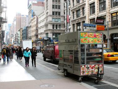 City Councilwoman Margaret Chin is set to introduce legislation March 20, 2013 to make parking close to a fire hydrant illegal for food trucks.