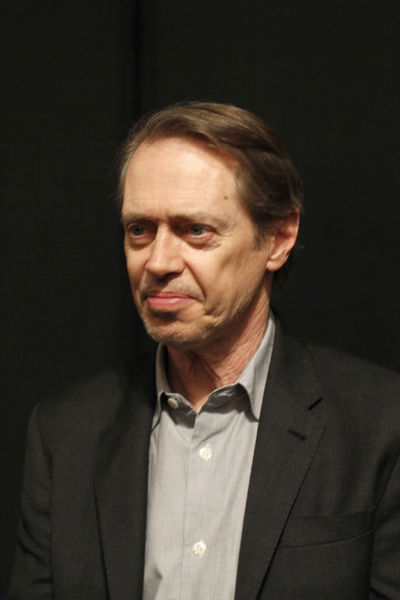 <p>Steve Buscemi at the Nanette Lepore show at Lincoln Center, Wednesday, February 13, 2013.</p>
