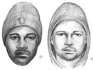 Police released sketches of two men they say are part of a group of violent robbers targeting straphangers in at least three incidents in the 174-175 Street-Grand Concourse D train station.
