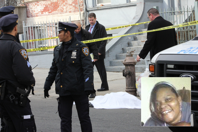 <p>Tanya Byrd, (R) is believed to be the victim found dismembered in a series of bags disposed of on a Bronx street.</p>