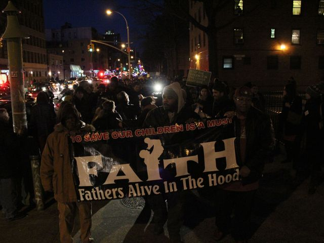 <p>Lower East Side residents marched as a sign of unity against recent violence in the neighborhood.</p>