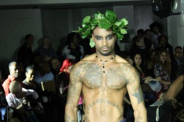 Couture moved north Thursday night as uptown celebrated its own version of fashion week.