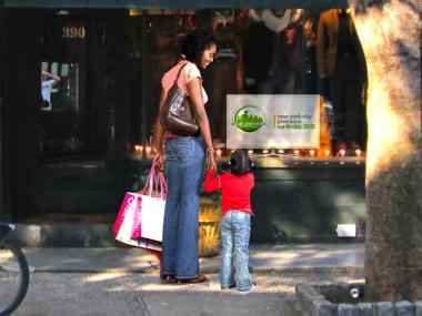 A new environmental initiative called Urban Greenwalk will set up video monitors on ecological topics in Bleecker Street shop windows running from West Ninth Street to Charles Street April 20-28, 2013.