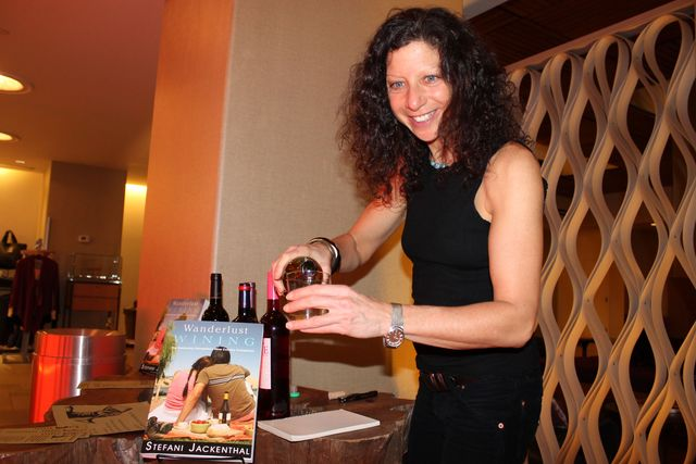 <p>Stefani Jackenthal&nbsp;said she grew up learning about wine and loves the experience of tasting wine and traveling to different wine regions.&nbsp;</p>