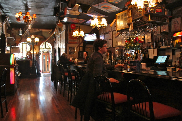 <p>The Waterfront Crab House, at 2-03 Borden Ave., reopened this week nearly four months after it was destroyed by flooding during Hurricane Sandy.</p>