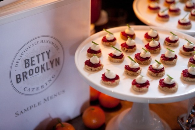 <p>Betty Brooklyn, a caterer at the Wedding Crashers fair last year.</p>