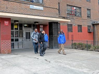 The boy was shot with his father's gun in his home on Westchester Avenue Friday morning, sources said.