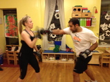 Park Slope Couples Celebrate Valentine's Day by Boxing