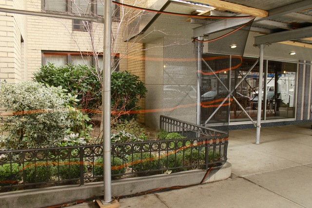<p>The garden at 145 E. 15th St., which wraps around the front of the property, originally cost the tenants $60,000 to create, and each tenant pays about $5,000-$8000 quarterly to maintain it.</p>