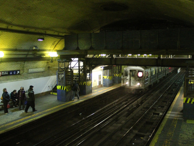 <p>Plans to renovate the 168th Street subway station do not include wheelchair access, which city Councilman Ydanis Rodriguez criticized the MTA for.</p>