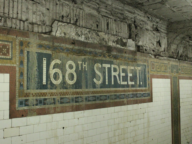 <p>Conditions in the 168th Street subway station have been deteriorating for years.&nbsp;</p>