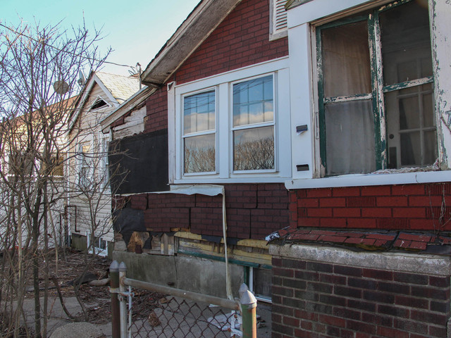 <p>The house at 774 New Dorp Lane was in bad shape before the storm, neighbors said, but has gotten a lot worse since Hurricane Sandy, March 5, 2013.</p>