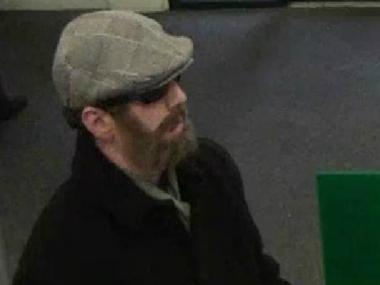 Police are looking for this man wanted in connection with an attempted bank robbery on March 8 in Westerleigh.