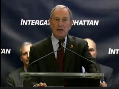 Mayor Michael Bloomberg vowed to to veto a bill that would create an independent NYPD Inspector General.