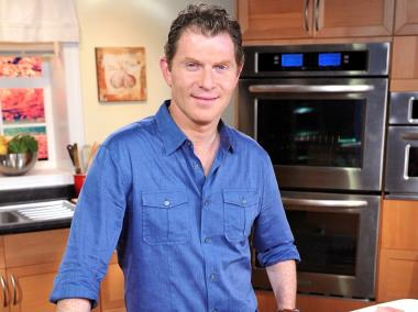 Celebrity Chef Bobby Flay poses during Hellmann's NYC Turkey Challenge launch Nov. 8, 2011 in New York.