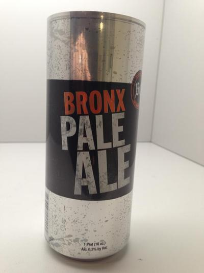 <p>A prototype of the new Bronx Pale Ale cans, set to hit markets in April 2013.</p>