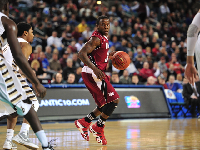 <p>University of Massachusetts point guard Chaz Williams, a 2009 graduate of Bishop Ford High School in Windsor Terrace, will play at the Barclays Center during the Atlantic 10 tournament.</p>