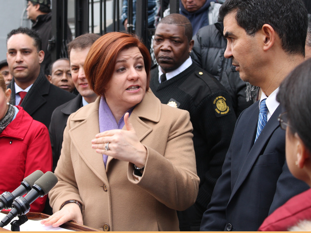 <p>City Council Speaker Christine Quinn called Juarez a slum lord and said that officials would be &quot;all over&quot; him to get him to make repairs.</p>