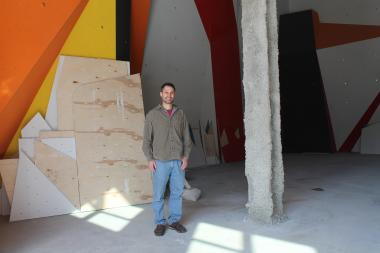 The highly-anticipated climbing center, slated to open in May, is offering future members a sneak-peek.