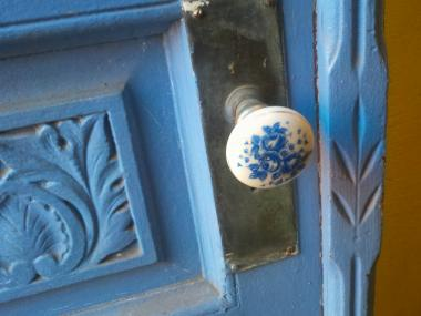 Police said many of last month's burglaries came from criminals targeting dilapidated doorknobs.