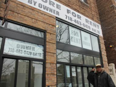 Uptown small businesses are getting squeezed out by high-priced commerical rents.