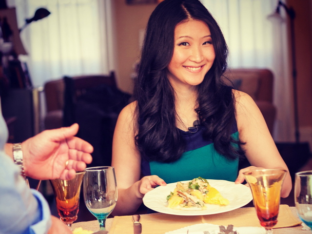 <p>Astoria resident Elaine Lee is launching her own online web show about food and culture in New York City, where she tries recipes from around the world and learns from the city&#39;s foreign-born chefs.</p>