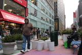 Fashion Center BID Unveils Concrete Street Furniture Prototype