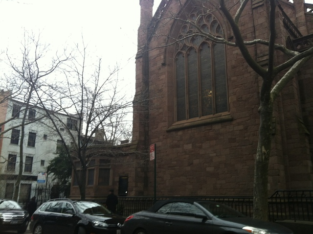 <p>Grace Church in Brooklyn Heights.</p>