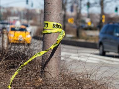 Ten people were hospitalized after a three-car accident on Cross Bay Boulevard on Friday afternoon in Queens.