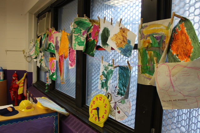<p>Art made by students at the Hudson Guild.</p>