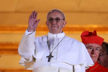 Jorge Mario Bergoglio, who was named Pope Francis I in Rome March 13, 2013.