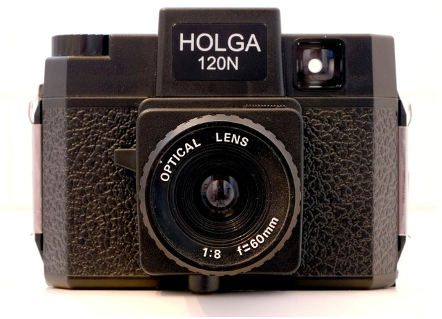 <p>Many of the &quot;Krappy Kamera&quot; photos were taken with a Holga, which is made entirely out of plastic.</p>