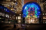 'Light Cycles' Art Display Will Continue to Shine Downtown Through April