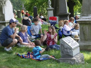 The historic cemetery is beefing up its calendar with events like 'mausoleum socials.'