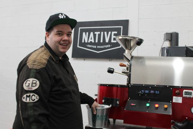 <p>Brian Donaldson launched Native Coffee Roasters this month. He roasts his own fair trade beans in a warehouse space in Astoria, Queens, and plans to sell the coffee at local markets.</p>